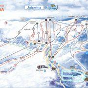 jahorina mapa